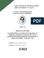 UNIVERSIDAD NACIONAL DE DUCACIÓN henry