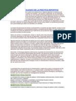EL ASPECTO PSICOLÓGICO DE LA PRÁCTICA DEPORTIVA