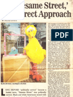 For 'Sesame Street,' the Direct Approach ('Sesame Street' set visit)