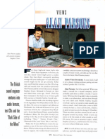 Alan Parsons interview