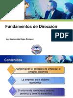 1. Dirección de empresas
