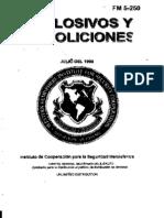 FM 5-250 Explosivos y Demoliciones