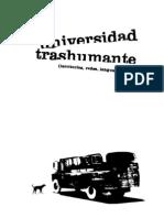 UNIVERSIDAD TRASUMANTE Universidad TrashumantesColectio Situaciones
