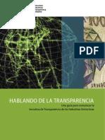 guía para comunicar la Iniciativa para la Transparencia de las Industrias Extractivas