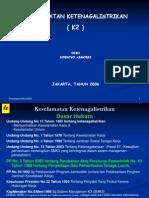 Keselamatan Ketenagalistrikan (K2)