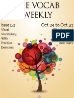 110799687 the Vocab Weekly Issue 52