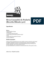 Broa Caxambú de Padaria