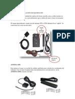 Manual  de instalación de equipos GPS