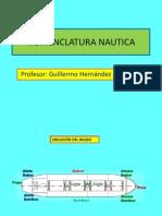 Nomenclatura Nautica Basica