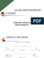Conceptos de instrumentación y control