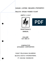 Turbine Maintenance Manual