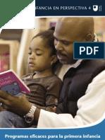 Programas Eficaces Para La Primera Infancia
