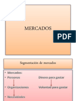 MERCADOS y Segmentacion