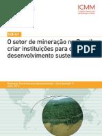 Desenvolvimento sustentavel IBRAM