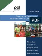 Manual de Gestión de Riesgos Socio-Ambientales y Reputacionales