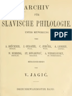 Archiv für slavische Philologie 23