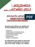 Reunion San Bernabe - 2013