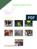 Laporan Produksi Lampu Teplok GROUP IV GEXIDA