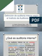 Qué es auditoria interna
