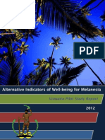 Alternative Indicators of Well-Being for Vanuatu