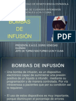 Bombas de Infusion