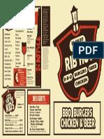rib hut menu 2
