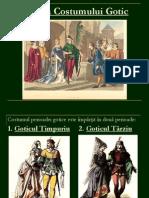 Istoria Costumului Gotic
