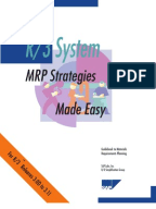 Gbi Case Study Wm II Scribd SAP MRP Strategy Made Easy PDF