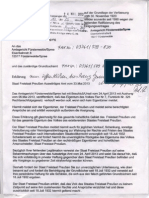Bekanntmachung vom 23.05.2013 mit Faxprotokoll