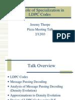 LDPC-optimization