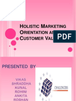 Holistic Marketing And Costumer Satisfaction