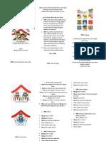 Leaflet PHBS