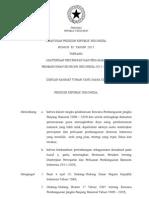 Perpres 32 Tahun 2011 Ttg MP3I 2011 - 2025