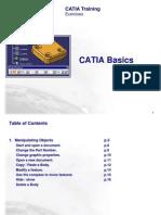 1-Catia Basic Exercises