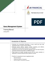 QMS Franchisee Traning Module Jan 2013