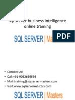 SQL Server Business Intelligence Online Training