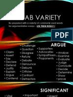 Vocab Variety