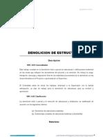 1001.a Demolicion de Estructuras