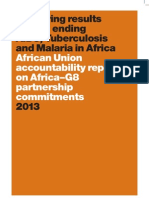 AIDS, TB and Malaria Accountability Report