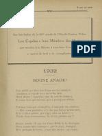Reclams de Biarn e Gascounhe. - Yené 1932 - N°4 (36e Anade)