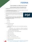 2 Axes Servomotor Training Set Tender Specifications