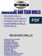 2008 Individual and Team Drills Manual
