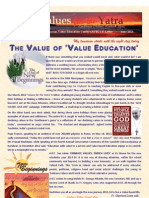 Values for the Yatra JUNE 2013