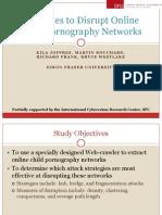 Strategies to Disrupt Online Child Pornography Networks