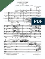 Villa-Lobos - Quintette en Forme de Ch Ros Score