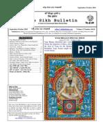 Sikh Bulletin Set Oct 10