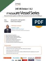 ASME VIII Division 1 & 2 Pressure Vessel Series