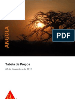 Tabela Preços Angola 20121107