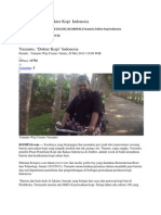Kliping Yusianto Dokter Kopi Indonesia