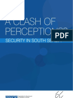 Marovic, Kostic, Ejdus (2012) a Clash of Perceptions- Security in South Serbia